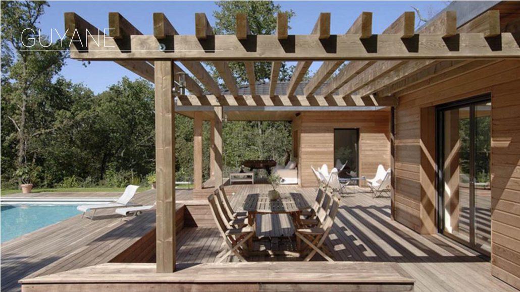 R alisation de pergola en bois ou aluminium gen ve for Quel bois pour pergola